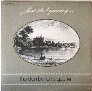 Don Burrows Quartet (The) ‎- Just The Beginning...  (LP) (EX-/G-VG)